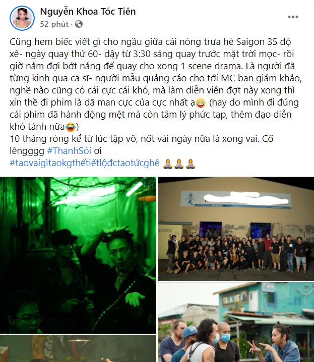 Tóc Tiên tiết lộ công việc cực nhất từng trải qua nhưng khán giả chỉ chú ý đến hashtag ảnh 2