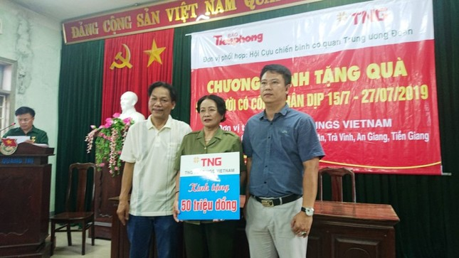 Hành trình ý nghĩa trong tháng tri ân của TNG Holdings Vietnam ảnh 7