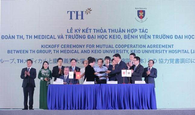 Tập đoàn TH động thổ tổ hợp y tế chất lượng quốc tế tại Hà Nội ảnh 2