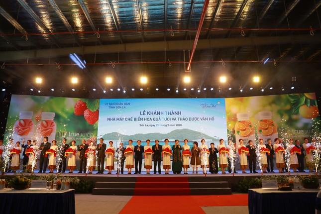 Khánh thành nhà máy chế biến hoa quả công nghệ hàng đầu thế giới tại Sơn La ảnh 2