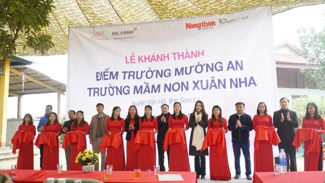 Quỹ Vì Tầm vóc Việt hoàn thành nâng cấp một điểm trường mầm non ở Vân Hồ, Sơn La ảnh 8