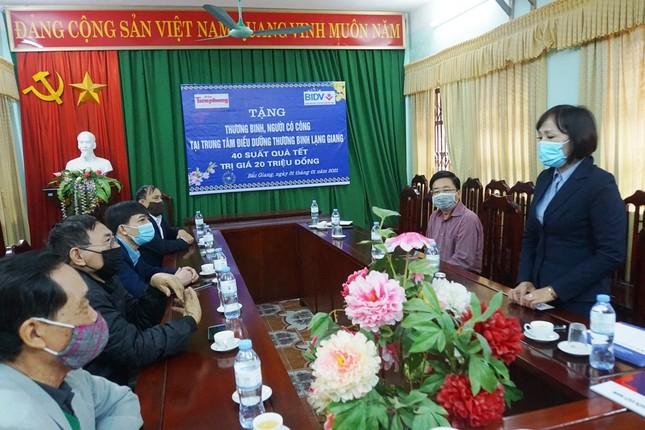 Ngân hàng BIDV chúc Tết các thương binh nặng tại Bắc Ninh, Bắc Giang ảnh 5