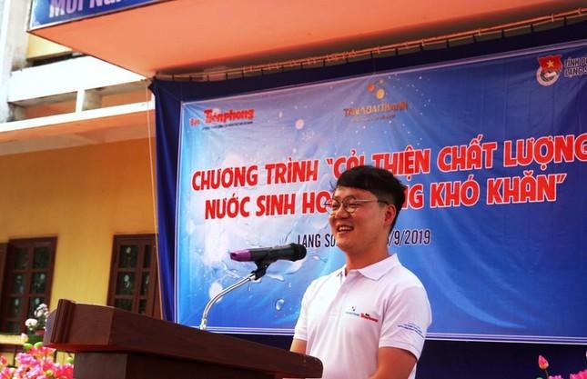 Doanh nhân Hàn Quốc đỡ đầu hai trẻ mồ côi ở Bắc Giang ảnh 4