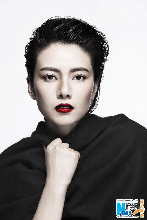 """""""Nữ thần sắc đẹp"""" Cao Viên Viên khoe sắc trên tạp chí ảnh 3"""