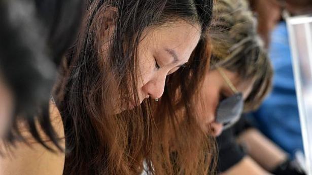 Người Singapore khóc thương ông Lý Quang Diệu ảnh 1
