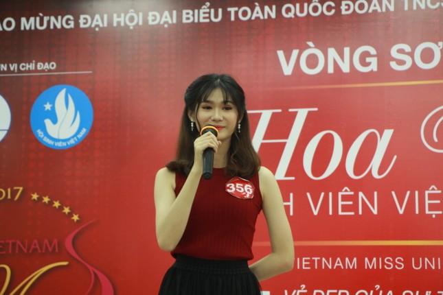 Nữ sinh duyên dáng, tự tin thi tài Hoa khôi sinh viên Việt Nam 2017 ảnh 14