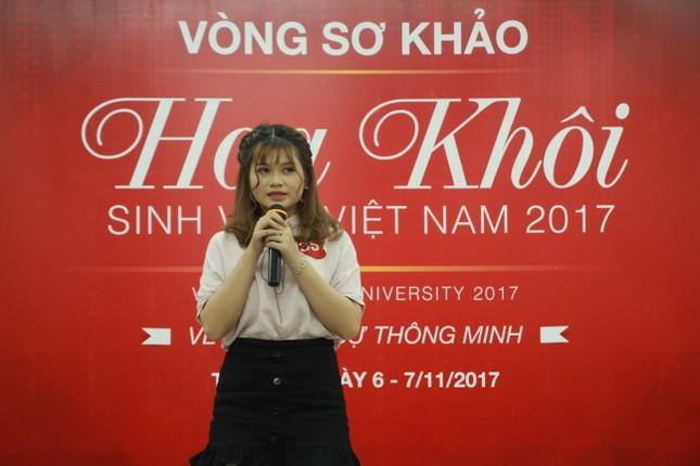 Nữ sinh duyên dáng, tự tin thi tài Hoa khôi sinh viên Việt Nam 2017 ảnh 13