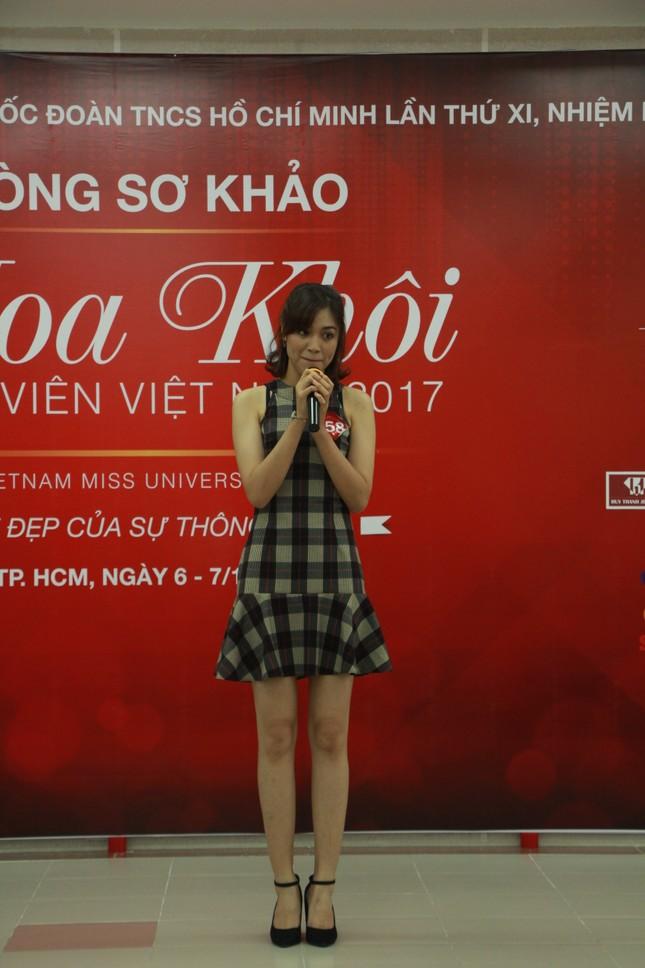 Nữ sinh duyên dáng, tự tin thi tài Hoa khôi sinh viên Việt Nam 2017 ảnh 12