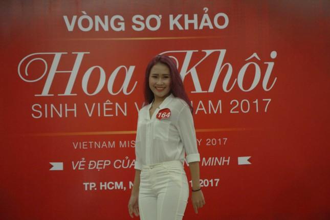 Nữ sinh duyên dáng, tự tin thi tài Hoa khôi sinh viên Việt Nam 2017 ảnh 10