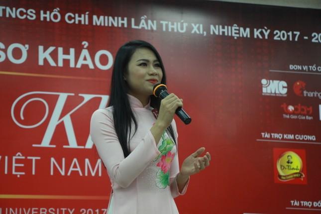 Nữ sinh duyên dáng, tự tin thi tài Hoa khôi sinh viên Việt Nam 2017 ảnh 7