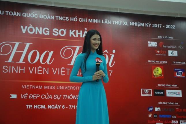 Nữ sinh duyên dáng, tự tin thi tài Hoa khôi sinh viên Việt Nam 2017 ảnh 5