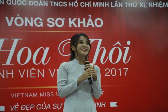 Nữ sinh duyên dáng, tự tin thi tài Hoa khôi sinh viên Việt Nam 2017 ảnh 3