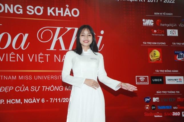 Nữ sinh duyên dáng, tự tin thi tài Hoa khôi sinh viên Việt Nam 2017 ảnh 4