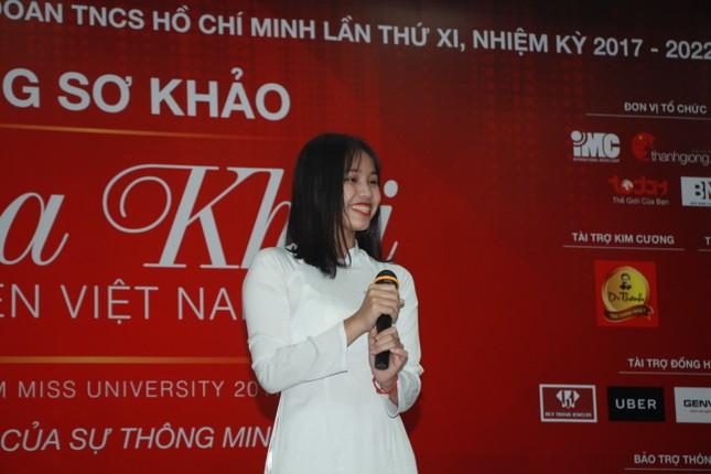 Nữ sinh duyên dáng, tự tin thi tài Hoa khôi sinh viên Việt Nam 2017 ảnh 18