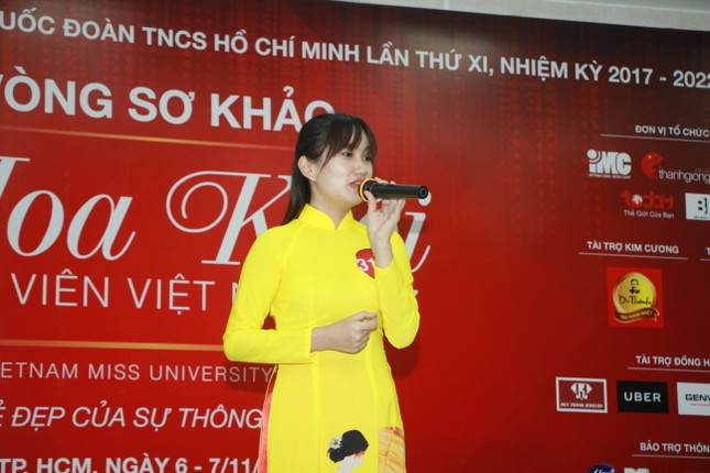Nữ sinh duyên dáng, tự tin thi tài Hoa khôi sinh viên Việt Nam 2017 ảnh 17