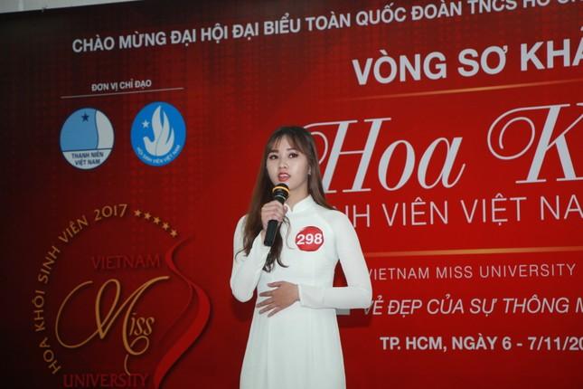Nữ sinh duyên dáng, tự tin thi tài Hoa khôi sinh viên Việt Nam 2017 ảnh 16