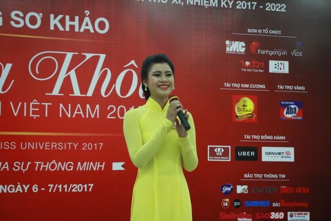 Nữ sinh duyên dáng, tự tin thi tài Hoa khôi sinh viên Việt Nam 2017 ảnh 15