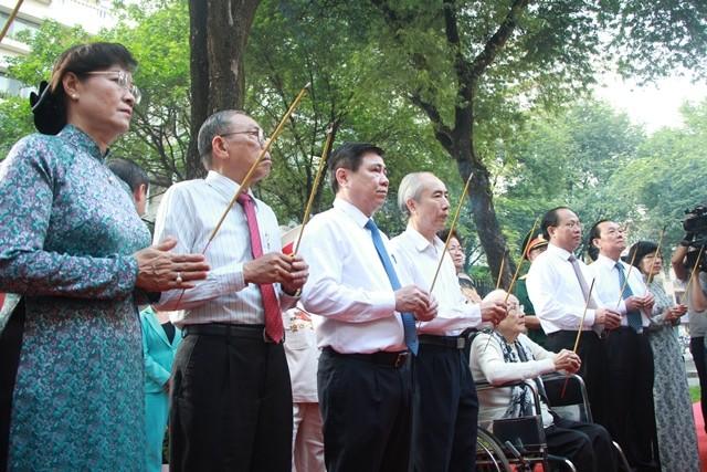 Khánh thành Bia tưởng niệm Đội 5 Biệt động Sài Gòn ảnh 1