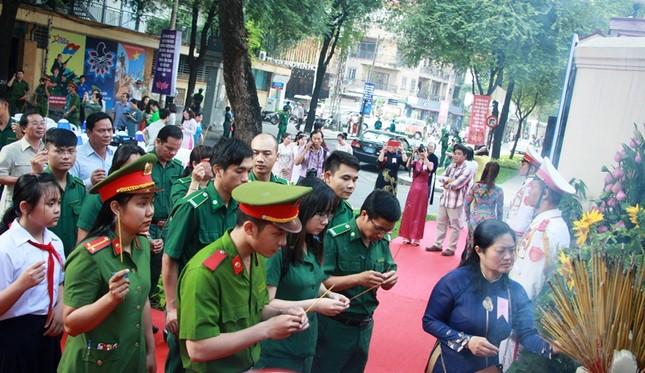 Khánh thành Bia tưởng niệm Đội 5 Biệt động Sài Gòn ảnh 3