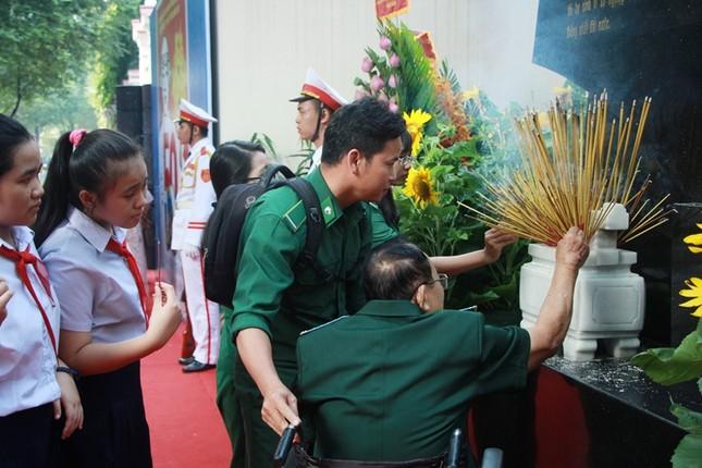 Khánh thành Bia tưởng niệm Đội 5 Biệt động Sài Gòn ảnh 4