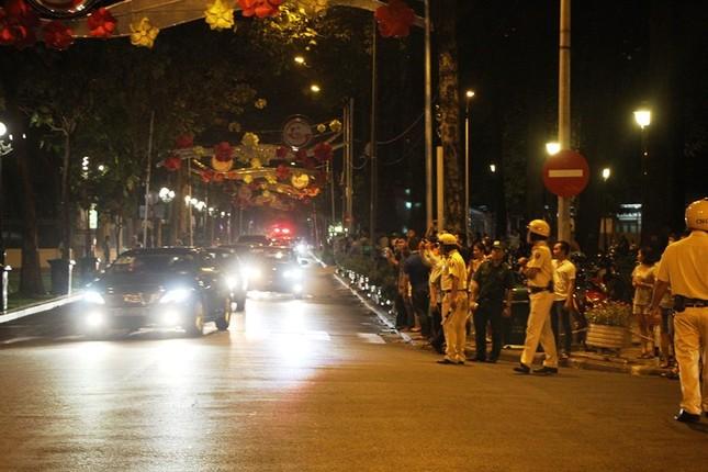 Linh cữu cố Thủ tướng Phan Văn Khải về đến Hội trường Thống Nhất ảnh 3