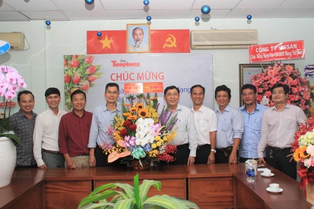 Ban Nội chính Thành ủy TPHCM thăm, chúc mừng báo Tiền Phong nhân ngày 21/6 ảnh 1