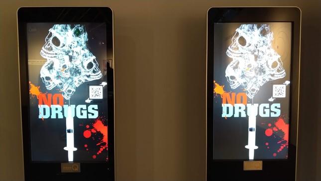Cận cảnh không gian tương tác, trưng bày hiểm họa của ma túy ảnh 11