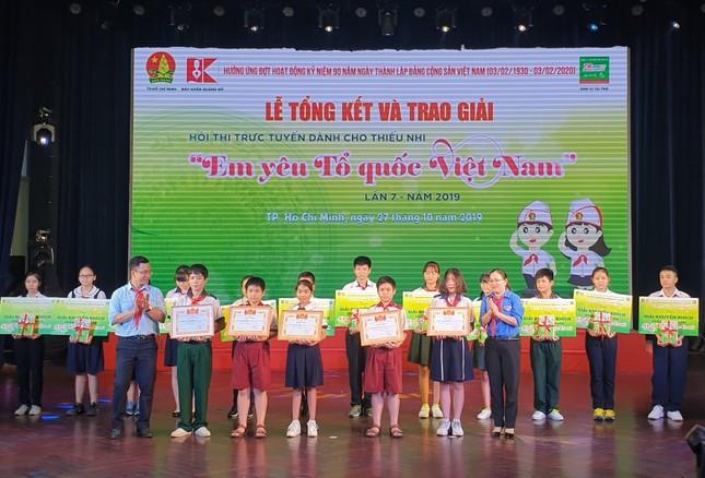 Hơn 900.000 lượt thi tài sân chơi 'Em yêu Tổ quốc Việt Nam' năm 2019 ảnh 1