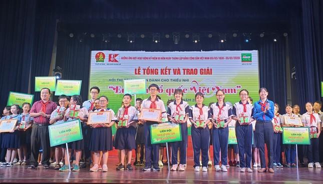 Hơn 900.000 lượt thi tài sân chơi 'Em yêu Tổ quốc Việt Nam' năm 2019 ảnh 2