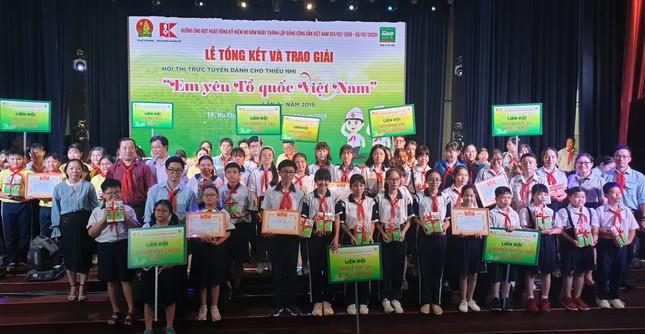 Hơn 900.000 lượt thi tài sân chơi 'Em yêu Tổ quốc Việt Nam' năm 2019 ảnh 3