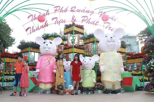 Người dân Quảng Ngãi rộn ràng 'check-in' với gia đình chuột ở công viên Ba Tơ ảnh 4