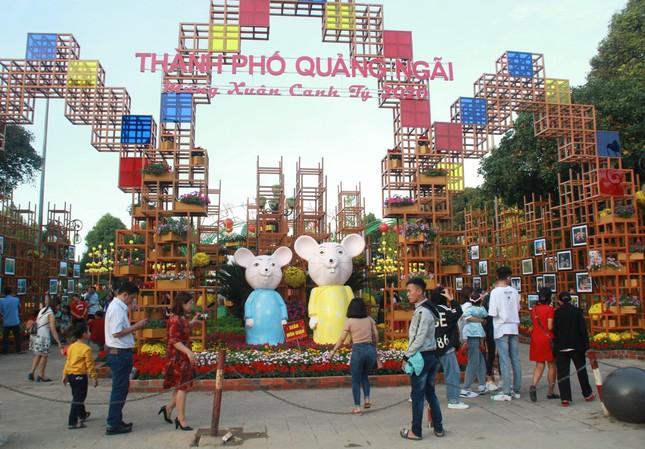 Người dân Quảng Ngãi rộn ràng 'check-in' với gia đình chuột ở công viên Ba Tơ ảnh 1