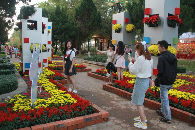 Người dân Quảng Ngãi rộn ràng 'check-in' với gia đình chuột ở công viên Ba Tơ ảnh 16