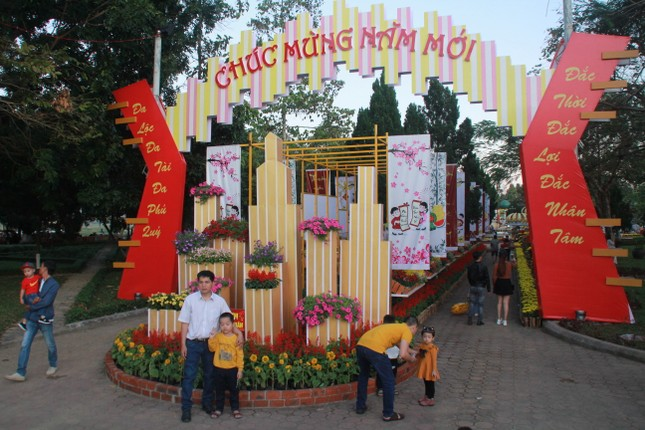 Người dân Quảng Ngãi rộn ràng 'check-in' với gia đình chuột ở công viên Ba Tơ ảnh 9