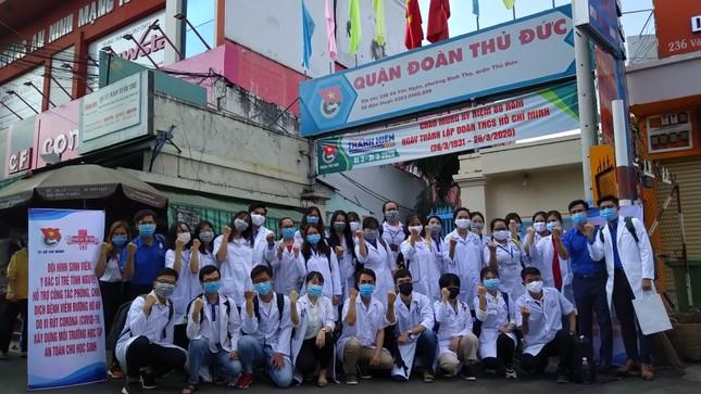 Lập đội hình 200 sinh viên Y dược, bác sỹ trẻ hỗ trợ phòng, chống dịch ảnh 5