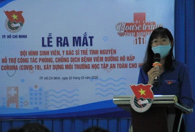 Lập đội hình 200 sinh viên Y dược, bác sỹ trẻ hỗ trợ phòng, chống dịch ảnh 1
