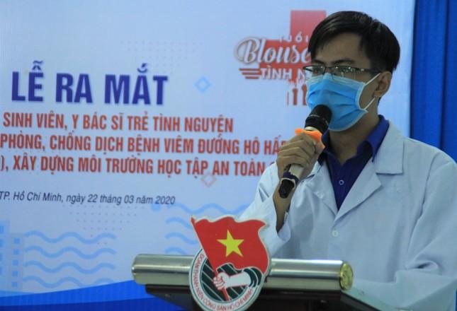 Lập đội hình 200 sinh viên Y dược, bác sỹ trẻ hỗ trợ phòng, chống dịch ảnh 2