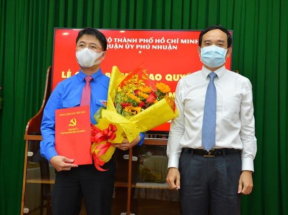 Bí thư Thành đoàn TPHCM Phạm Hồng Sơn làm Bí thư Quận ủy Phú Nhuận ảnh 1