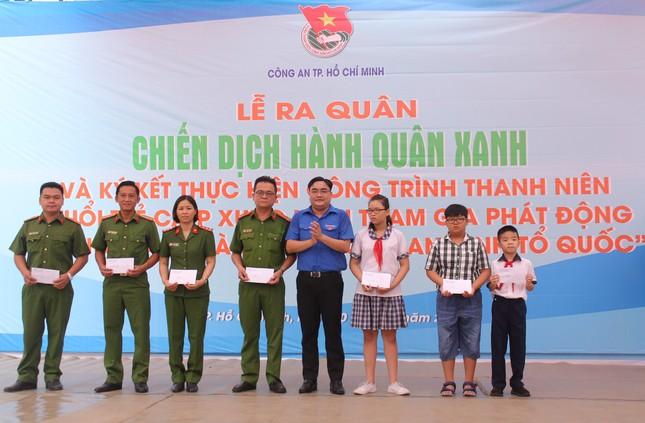 Tuổi trẻ Công an TPHCM ra quân Hành quân xanh năm 2020 ảnh 1