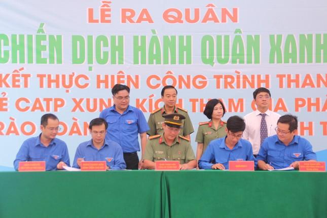 Tuổi trẻ Công an TPHCM ra quân Hành quân xanh năm 2020 ảnh 2