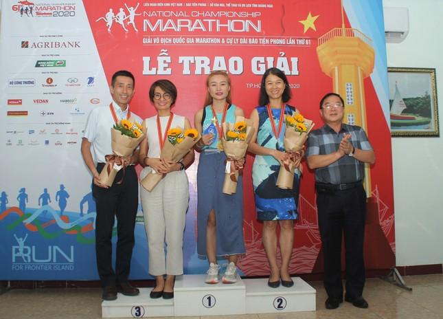 Trao giải Tiền Phong Marathon 2020 ảnh 5
