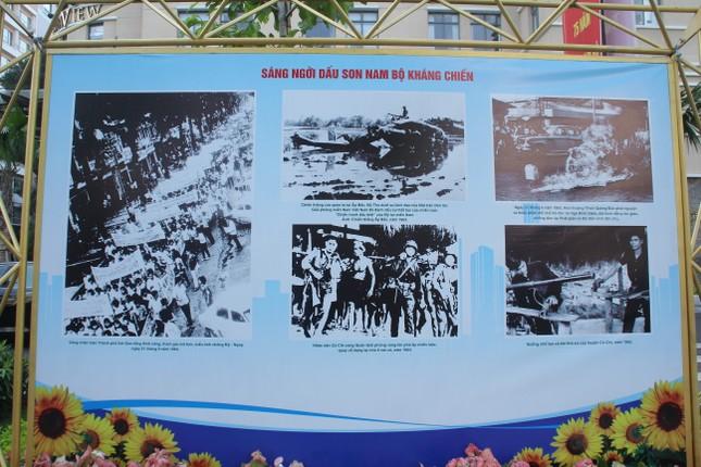 Triển lãm tư liệu quý kỷ niệm 75 năm ngày Nam Bộ kháng chiến ảnh 2