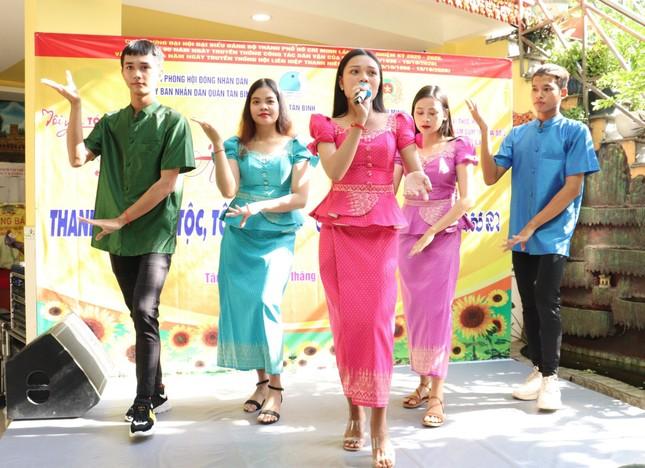 Nhiều hoạt động chăm lo tại ngày hội Thanh niên các dân tộc, tôn giáo ảnh 5