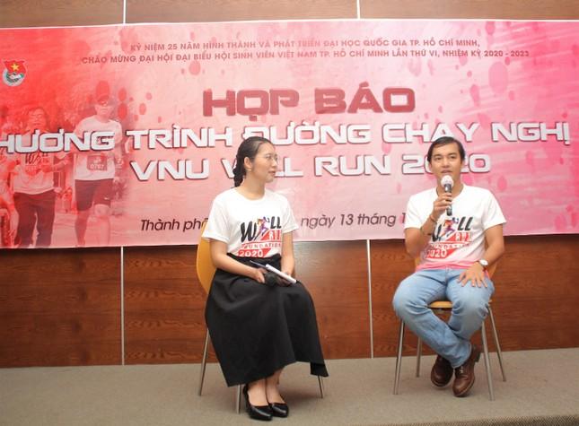 Blogger Trần Đặng Đăng Khoa làm đại sứ Đường chạy nghị lực VNU Will Run 2020 ảnh 2