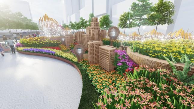 Lộ thiết kế đường hoa Nguyễn Huệ Tết Tân Sửu ảnh 9
