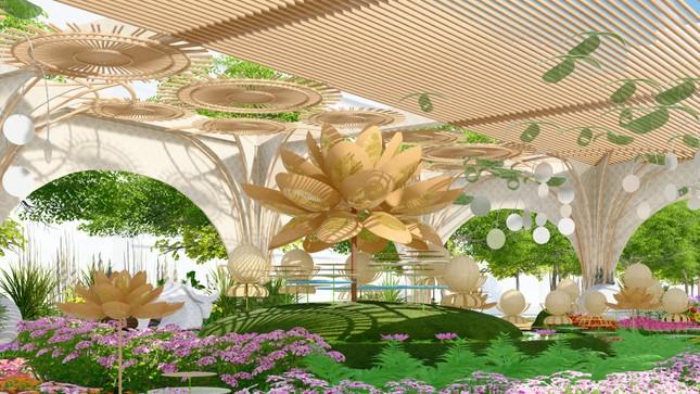 Lộ thiết kế đường hoa Nguyễn Huệ Tết Tân Sửu ảnh 4