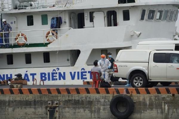 Vũng Tàu: Thêm 2 thuyền viên tàu OCEAN AMAZING dương tính với SARS-CoV-2 ảnh 1