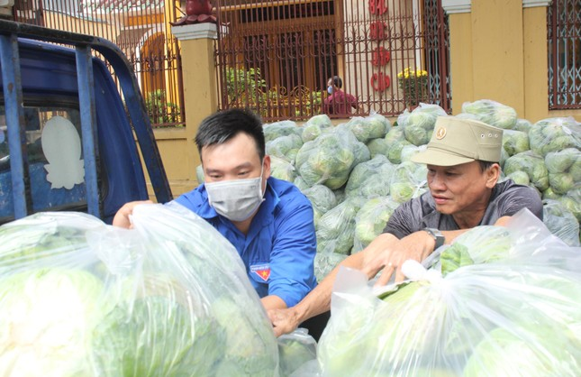 Người dân TPHCM hào hứng 'giải cứu' nông sản Hải Dương ảnh 13