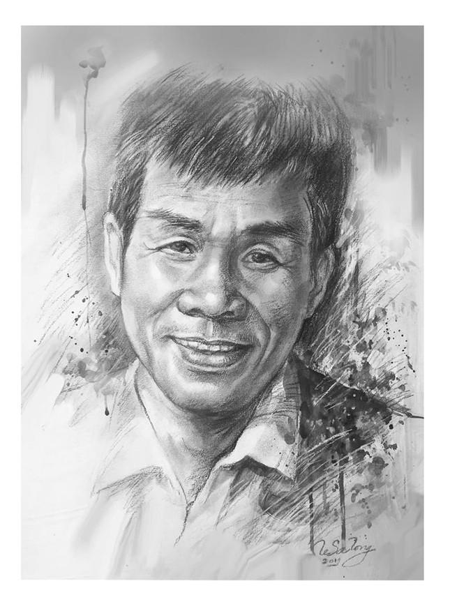 Ngày thơ, ngắm chân dung các nhà thơ tên tuổi Việt Nam qua tranh ký họa ảnh 1