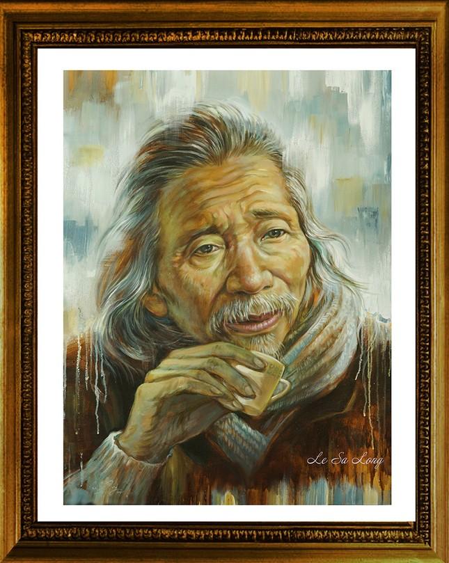 Ngày thơ, ngắm chân dung các nhà thơ tên tuổi Việt Nam qua tranh ký họa ảnh 3